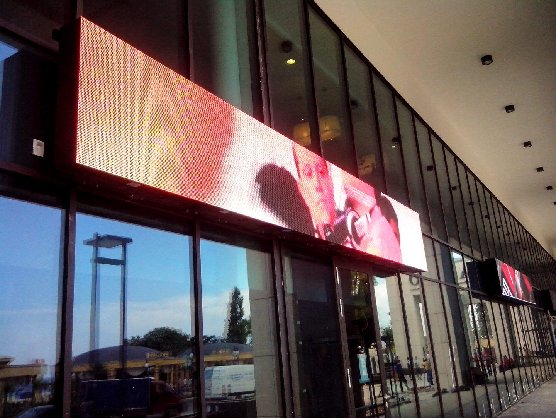 външна реклама LED дисплей