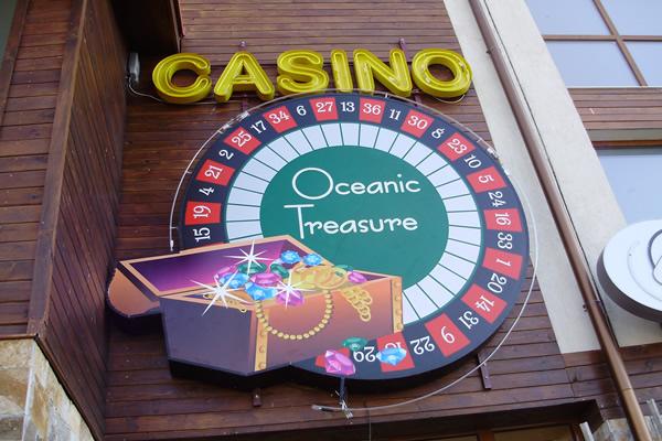 Светещи реклами за казина