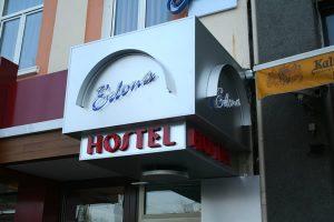 hotel edona glowing ads