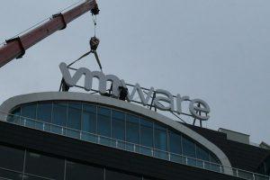 vmware rooftop letters