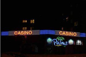 casino palms glowing ads