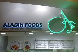 aladin foods letters