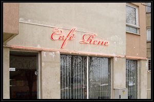 cafe rene glowing ads