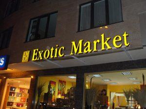 Exotic market letters