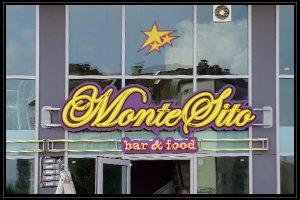 MonteSito glowing ads