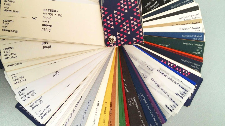Хартията - голямо разнообразие от видове
