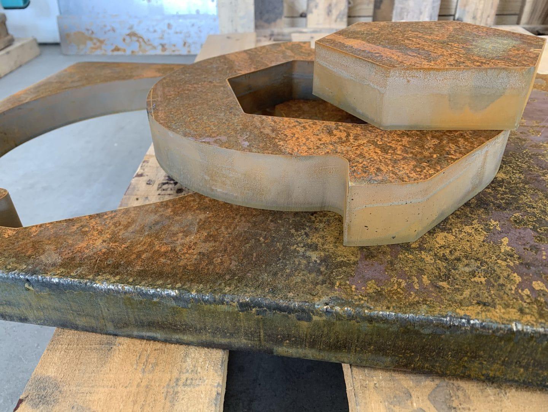 рязане на дебели материали на водна струя